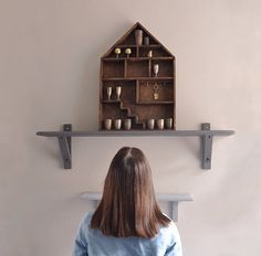 This handmade wooden shelf has been exclusively made for those who want to make your home cozy and comfortable. It is built with 100% natural eco materials. The shelf is solely made of wood. It can be used to store photographs, decorations, Christmas ornaments, dolls, toys, accessories, cameras, feelings and comfort.  Each shelf is proudly handcrafted in Ukraine and is the perfect thing to brighten your house!  It is a great gift for Christmas, Wedding, Mother's Day, Birthday, Anniversary…