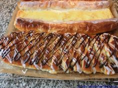 Wienerbrød/Kanelstang - New Ideas European Cuisine, Scandinavian Food, Danishes, Swedish Recipes, Sweet And Salty, Cakes And More, Coffee Cake, Pain, Hot Dog Buns