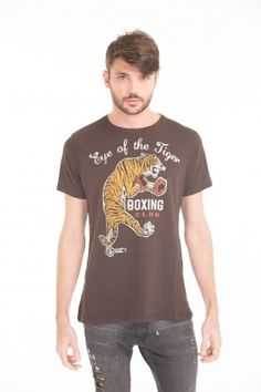 Remera TIGER BOXING