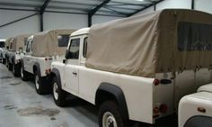 Lot of 43 brand-new Land Rover Defender 110 trucks for sale - Autoweek
