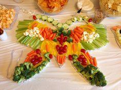 Butterfly Veggie tray