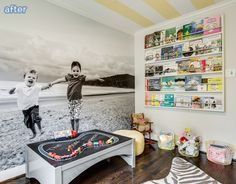adorable playroom makeover