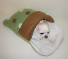 Custom+Quilted+Fleece+Pet+Sleeping+Bag+Blanket++by+napetdepartment,+$37.95
