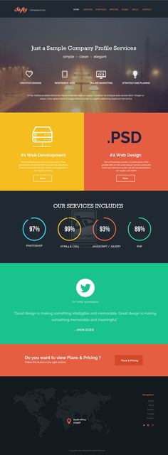 Sosfty_sample_design_PSD by degraphic #webdesign