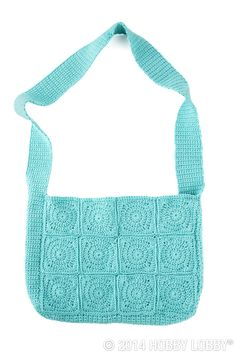 For an even simpler twist on our granny square totes, skip the color changes. Find one yarn that makes your heart sing, and turn it into a monochromatic masterpiece—this pattern has plenty of texture to amp up a pretty, one-note design.