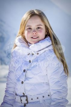 Princess Ariane of The Netherlands during the annual winter photo call on February 2018 in Lech, Austria. Dutch Princess, Royal Princess, Prince And Princess, Princess Diana, Little Princess, Queen Maxima, Queen Letizia, Queen Of Sweden, Royal Tiaras