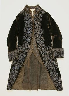 Court Suit, France, 1750-75, silk. Metropolitan Museum of Art. http://www.metmuseum.org/collection/the-collection-online/search/95492?img=2&imgno=0&tabname=related-objects