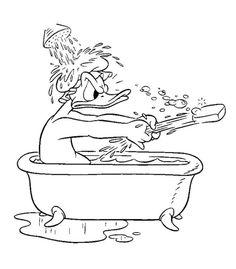 Séance de langage sur le thème du bain