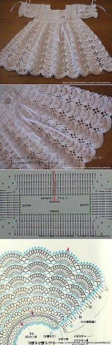 Resultado de imagem para crochet vestidos en facebook