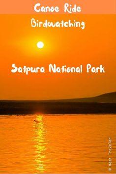 Canoe Ride & Birding Satpura National Park: