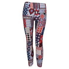 a134d70395 Patterned Legging Peruvian Patchwork Patterned Leggings, Printed Leggings,  Second Skin, Yoga Leggings,