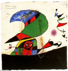 Joan Miro ~ PLEASE COMMENT on pin if you know the following: date, title, medium…
