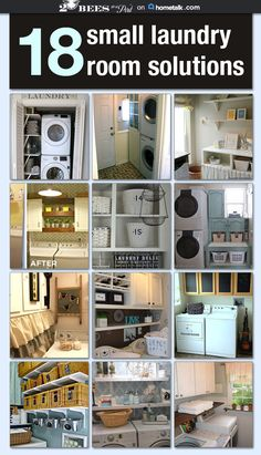 18 Small Laundry Room Solutions