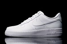 size 40 e393e 1ea7e Nike Air Force 1  07 Low - White White 1 Air Force 1, Nike