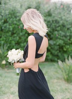 Photography : Diana McGregor Read More on SMP: http://www.stylemepretty.com/2015/05/26/black-white-gold-outdoor-glam-wedding/