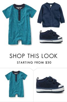 """Printed Romper"" by babiesswardrobe ❤ liked on Polyvore featuring men's fashion and menswear"