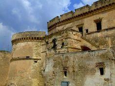 Château Imperiali à Massafra.