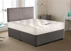 Silentnight Radley Open Spring Divan Bed - Firm