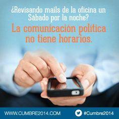 Cumbre de #Comunicacion #Politica 2014