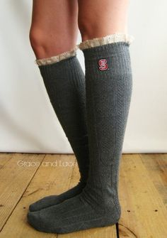NC State boot socks. Yes.