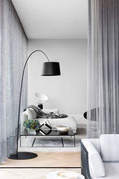 Living Room   Potts Point Penthouse by Arnold Lane   est living