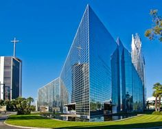 Crystal Cathedral Phillip Johnson 1980