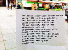 Man hat langsam das Gefühl, dass in Deutschland ohne Ulm nichts läuft.