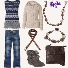 fat face bootcut jeans hoodie boots top bag and jewllery