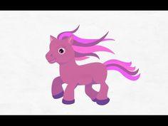 как нарисовать пони, how to draw a pony #draw