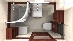 Mała łazienka w bloku . Zródło:www.lazienkaw10dni.pl