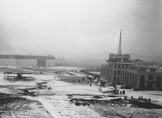 Croydon Airport, home airport of Imperial Airways