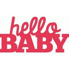 Silhouette Design Store - Search Designs : baby shower