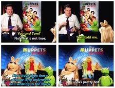 Miss Piggy understands. <- Never have I ever wanted to be Miss Piggy more! She get's to have a secret affair with Tom Hiddleston! If that's not Awesome I dont know what is!