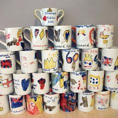 Regalos para papá: taller de decoración tazas