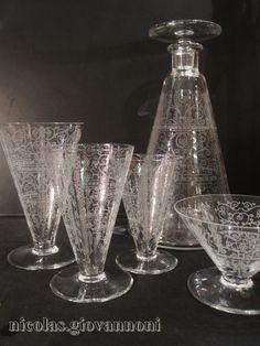 Service cristal - Lido - BACCARAT - Cristal - Catalogue - Cristal de France - Nicolas Giovannoni