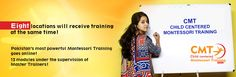 Child Centered Montessori Training Online Session 2016 - https://east.education/child-centered-montessori-training-online-session-2016 CMT will begin its new session from 2nd May in 8 different locations in Karachi, providing online training!