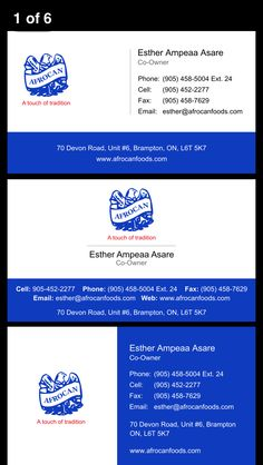 Business card design concept for global life financial a financial new business card design concepts for a african food store in toronto and brampton graphicdesign design reheart Choice Image