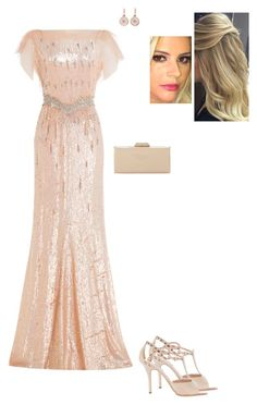 """""""Untitled #8758"""" by gracebeckett on Polyvore featuring Louis Vuitton, Jenny Packham and Dune"""