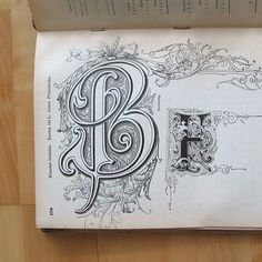 B hand lettering sketchbook flourishes Types Of Lettering, Lettering Styles, Lettering Design, Hand Lettering, Calligraphy Alphabet, Calligraphy Fonts, Typography Letters, Crayons Pastel, Fancy Letters