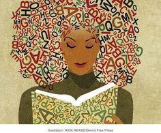 okuyan kadın