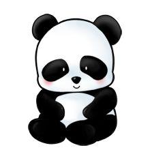 Desenho de um panda muito fofo...   desenhos   Pinterest   Pandas Easy Designs To Draw For Kids