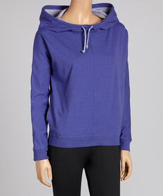 Take a look at this Purple Rain Funnel Hoodie - Women & Plus by Ryka on #zulily today! $37 !!