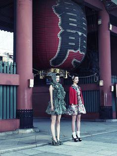 "//Harcoza's new 2013 SS collection ""Asakusa Beat"""