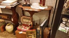 solid wood end table 45.00