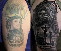 Cover up tattoo by Tomas. Limited availability at Redemption Tattoo Studio. Cover Up Tattoos, Cool Tattoos, Tennessee Tattoo, Jesus Tattoo, Body Modifications, Tattoo Ink, Tattoo Studio, Tattoo Ideas, Art