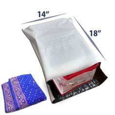 14 x 18 Premium Tamper Proof Courier Bags for Retail & Textile Packaging