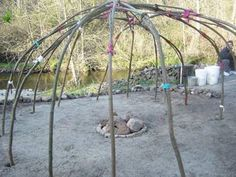 THE SWEATLODGE STRUCTURE AND CEREMONY - Dancing to Eagle Spirit Society -