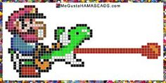 Patrones Hama Beads Super Mario World parte 4