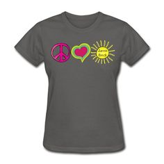 Peace Love Summer Break - End of Year Teacher T-shirt