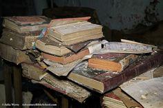 Willard Asylum library- medical texts OC Willard Asylum, Urban Decay, Abandoned, Texts, Oc, Medical, Left Out, Medicine, Med School